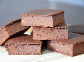 Chocolate & butternut squash brownies